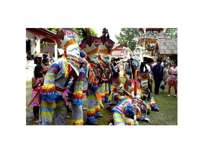 Фестиваль Тайланд - фстиваль духов Пхи Та Кхон