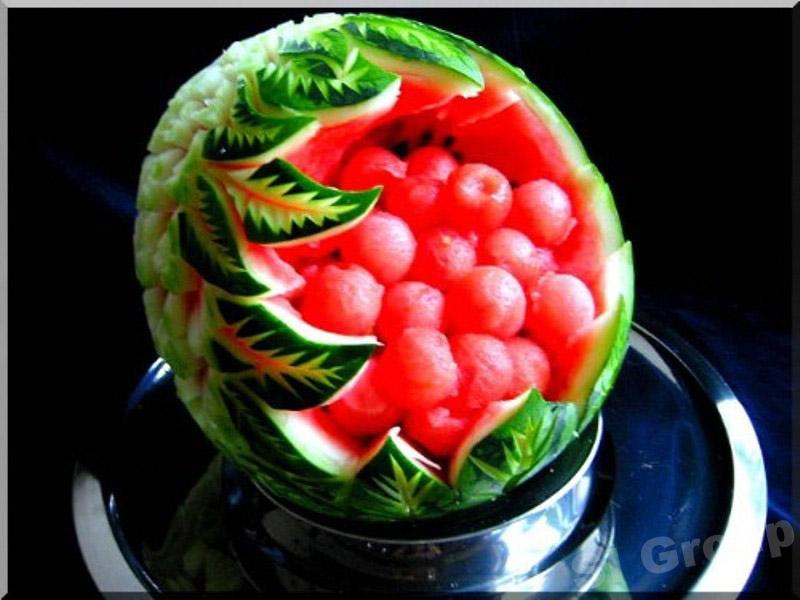 Карвинг фруктов