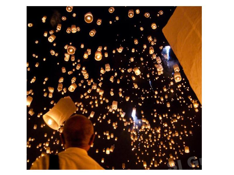 Праздник фонариков — романтика Лой Кратонг в Таиланде