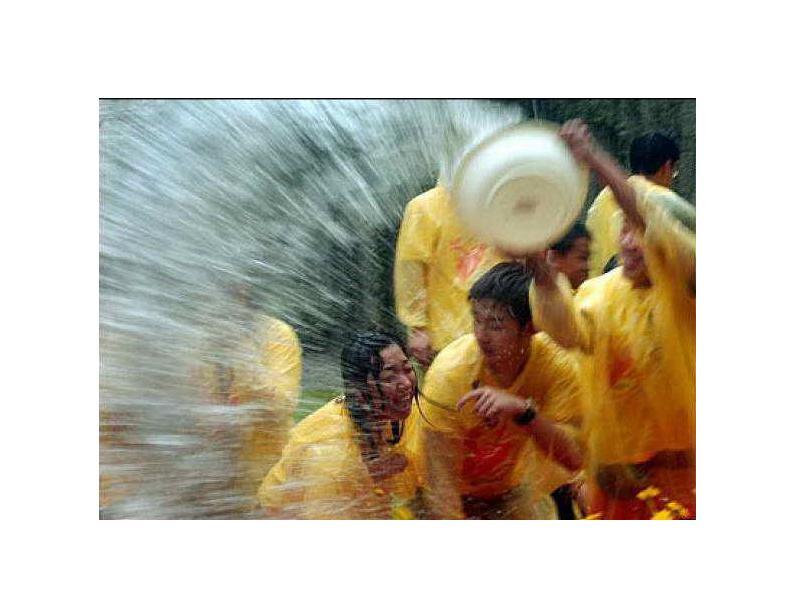 Cонгкран —Тайский Новый год