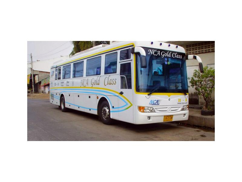 Thailand buses - Travel to Thailand by bus