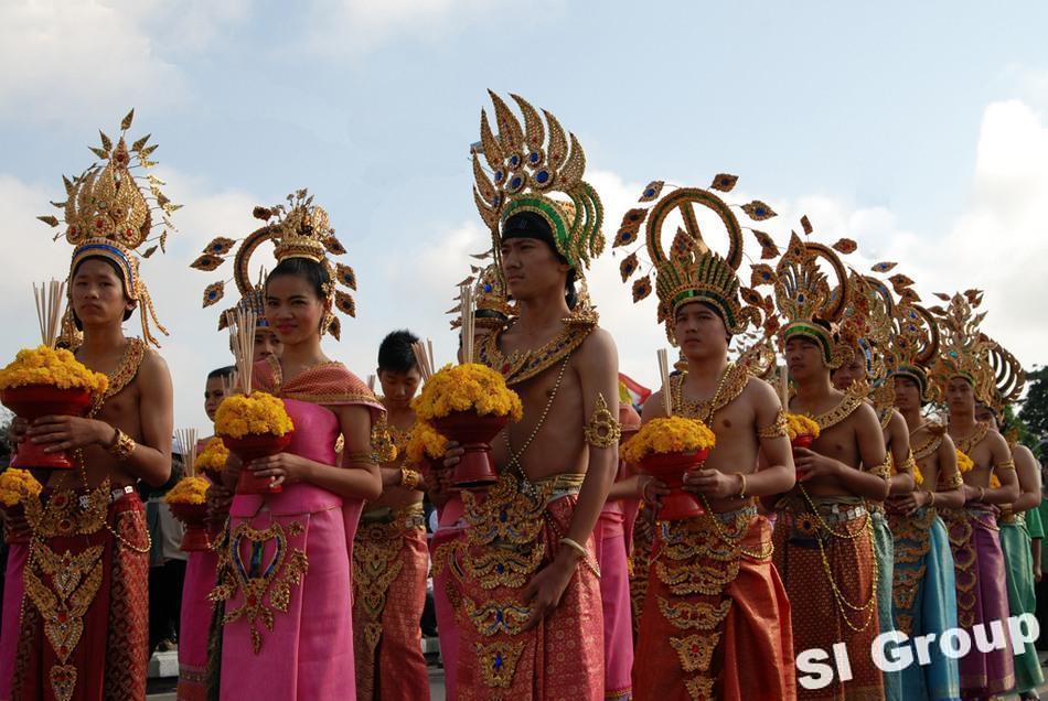 Фестиваль цветов в Таиланде