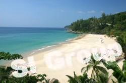 Nai Thon praia