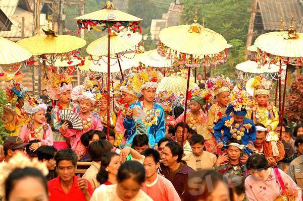 Фестиваль Пой Сан Лон (Poi Sang Long)