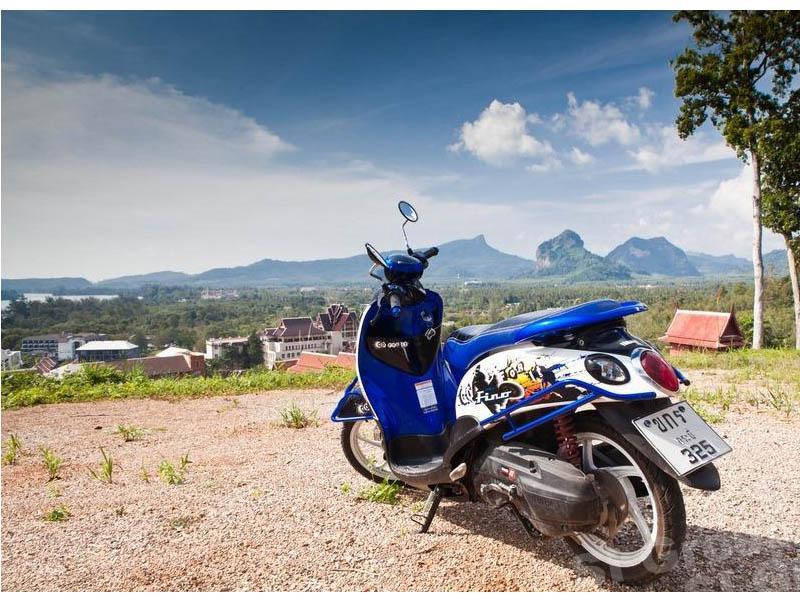 Rent a bike in Phuket