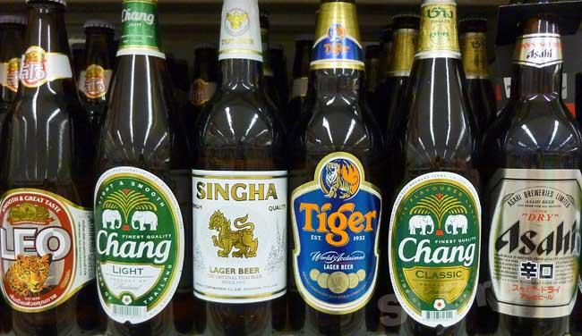 Пиво в Тайланде Beer in Thailand