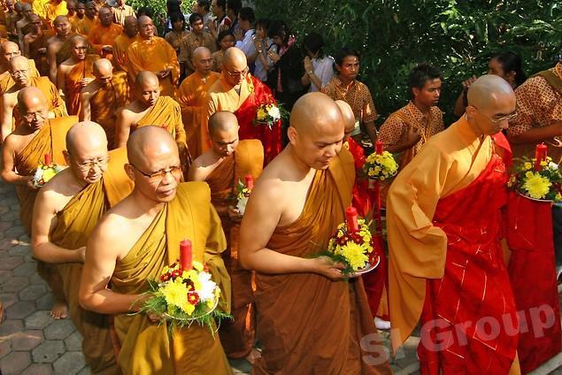 Буддийские праздники в Тайланде