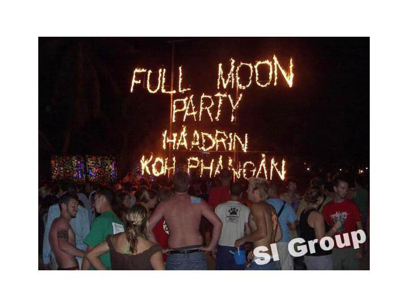 Full Moon Party в Тайланде