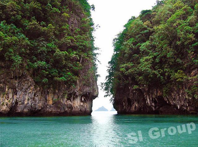 Острова  Хонг Koh Hong и Koh Pak Bia