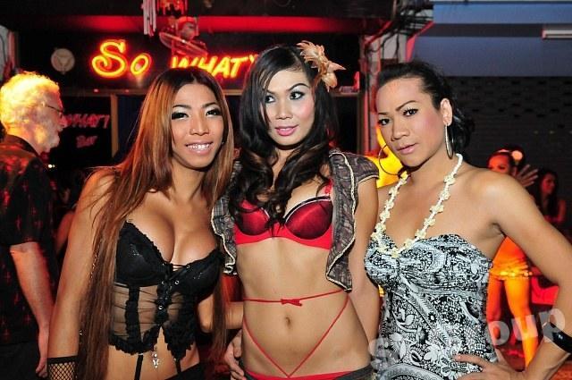 Секс трансвеститов тайских