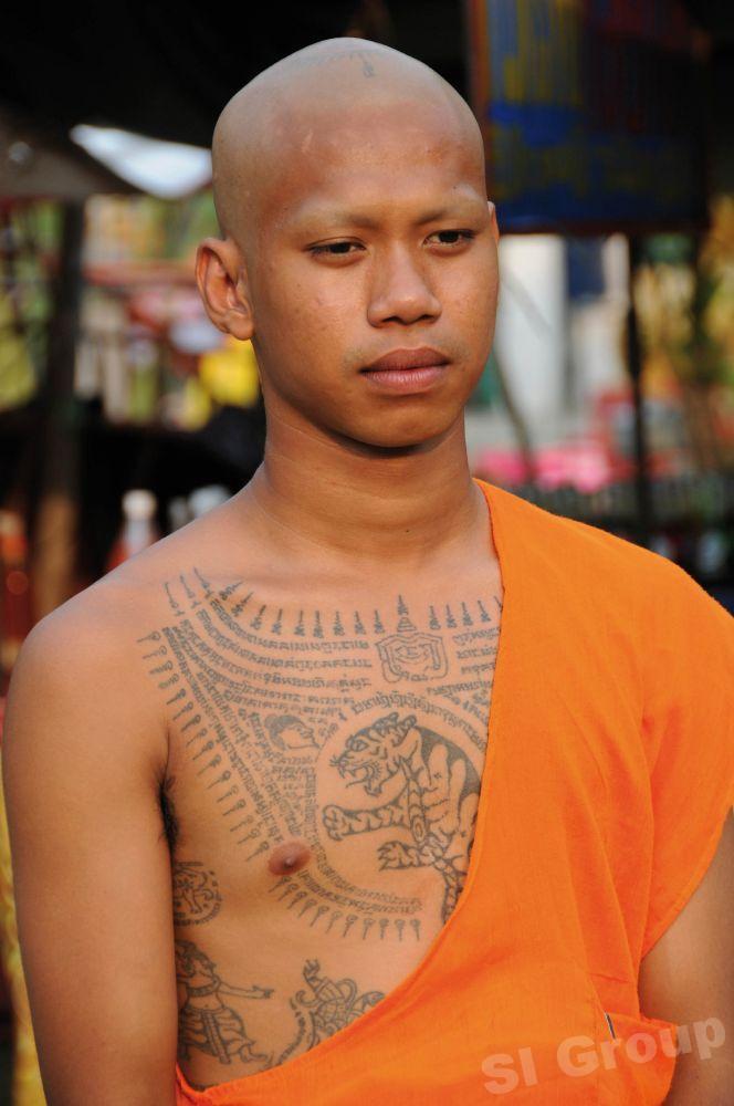 Татуировки в Таиланде