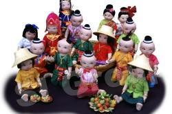 Прекрасная Куколка Из Тайланда