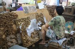 Резьба по дереву в Тайланде