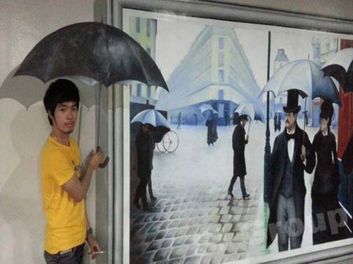 3D обман зрения Trick eye museum