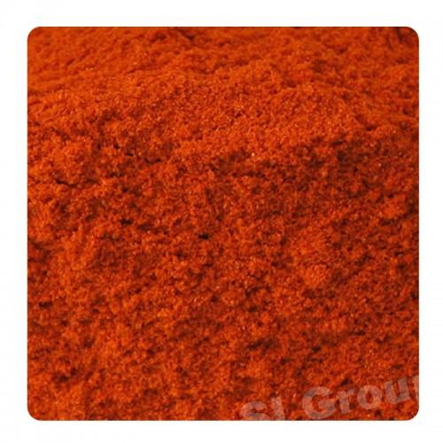 Чили перец сухой порошок Dry Chilli powder (Capsicum Fruitescences) Thai : Prik pon Season: All year round Availability: powder Packaging: Plastic bag and glass jar