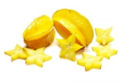 Карамбола Star fruit Thai (тайское название): ma-fuang Season (сезонность): all year round Availability (вид): Fresh and Frozen Packaging (упаковка): Tray or Carton Box