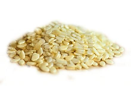 Кунжут белый White Sesame (Sesamum indicum) Thai : Nga dam Season: All year round Availability: dry seed Packaging: Plastic bag and glass jar