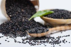 Кунжут черный Black Sesame (Sesamum indicum) Thai : Nga dam Season: All year round Availability: dry seed Packaging: Plastic bag and glass jar