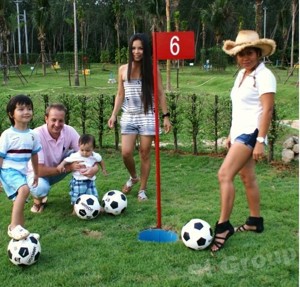 Экскурсии на Пхукете: Футбол — гольф или Football Crazy Golf