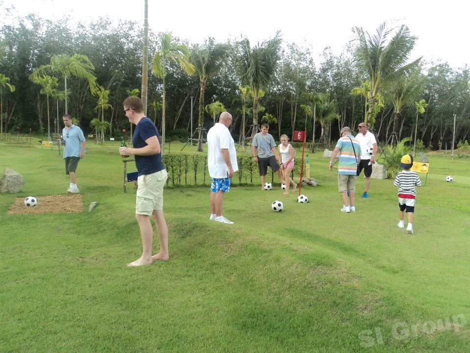 Экскурсии на Пхукете - Футбол-гольф