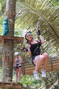 Xtrem Aventures: Экскурсии Пхукета: экстремальный парк