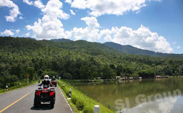 Tours in Chiang Mai Hua Tung Tao Lake (Huay Tung Tao)
