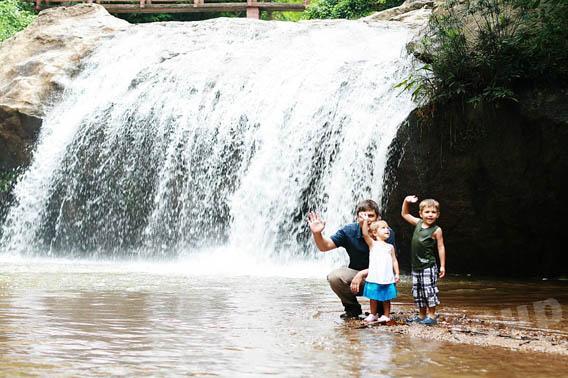 Экскурсии Чианг Май: Сказочный водопад Mae Sa