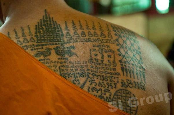 Ват Банг Пхра — Храм магической татуировки в Таиланде (Wat Bang Phra)
