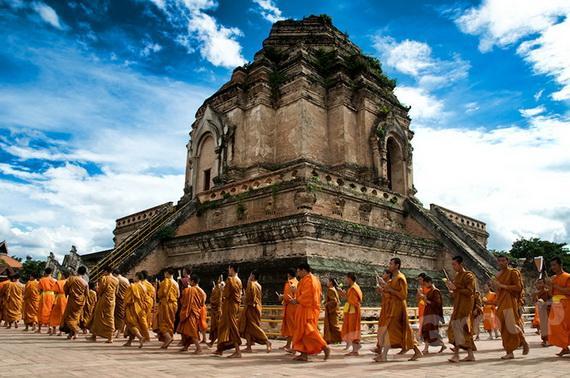 Экскурсии Чиангмай: Храм Чеди Луанг (Wat Chedi Luang)