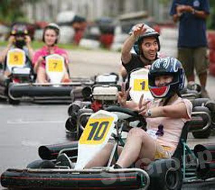 Excursions in Phuket: Karting Club in Chalong