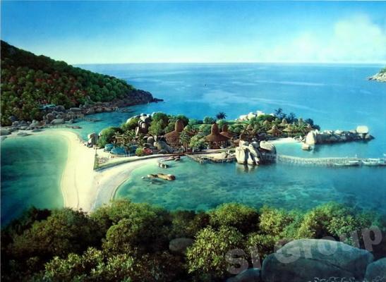 Остров Ко Кланг (Koh Klang) – «промежуточный» остров близ Пхукета