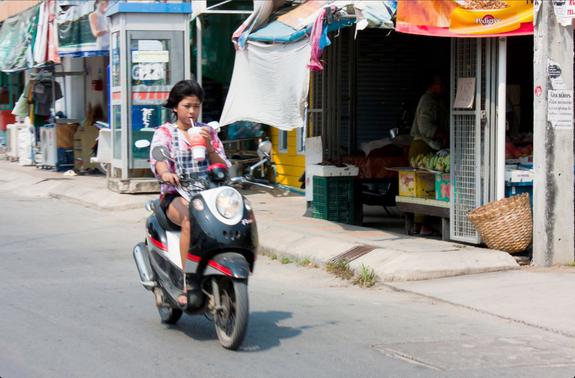 Секс на дорогах тайланда