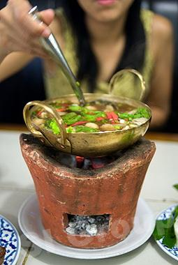 Тайская кухня. Суп Том Саеб (Tom Saeb)