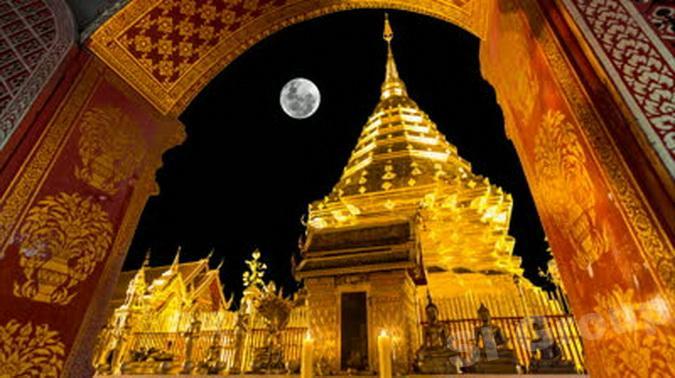 Экскурсии Чиангмай: храм Ват Прахат Дой Сутхеп