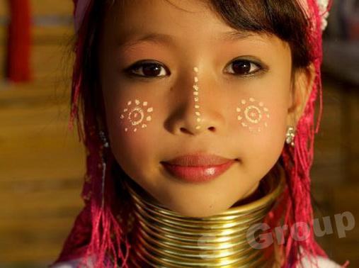 Женщины с кольцами на шее — Племя Каян Таиланд