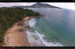 Пляж Камала видео