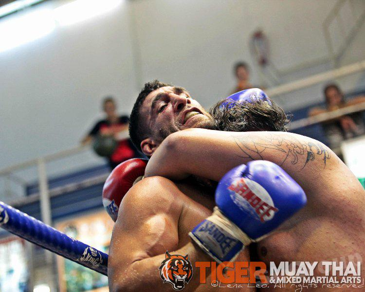 Thaïlande Muay Thai. Tiger Muay Thai à Phuket