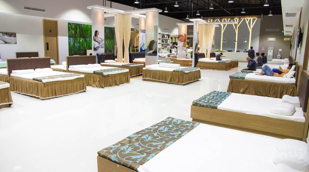 Магазин латекса в Тайланде - матрасы и подушки из латекса