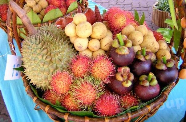 Авиа доставка фруктов из Тайланда