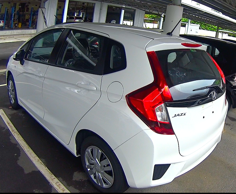 Overview of the car Honda Jazz 2016, 2017