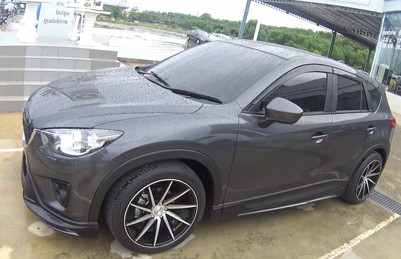 Видео обзор автомобиля Mazda CX-5